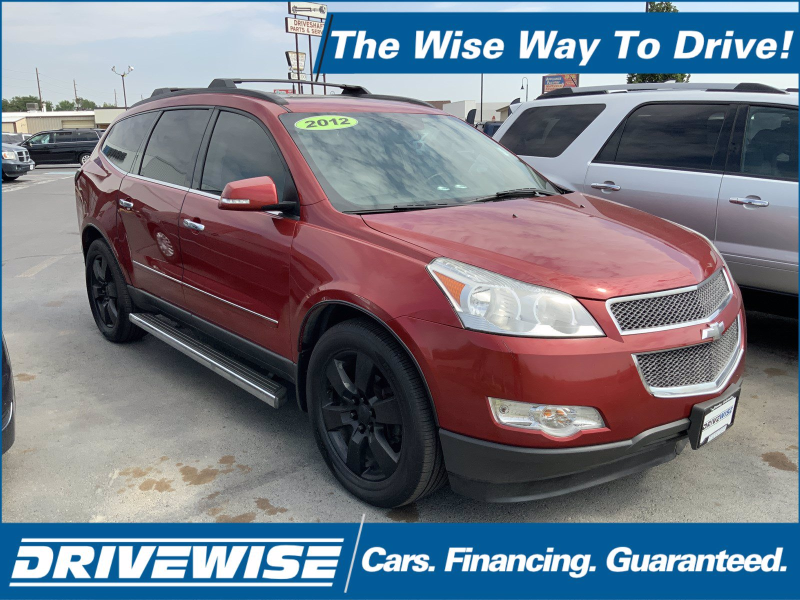 Pre-Owned 2012 Chevrolet Traverse LTZ