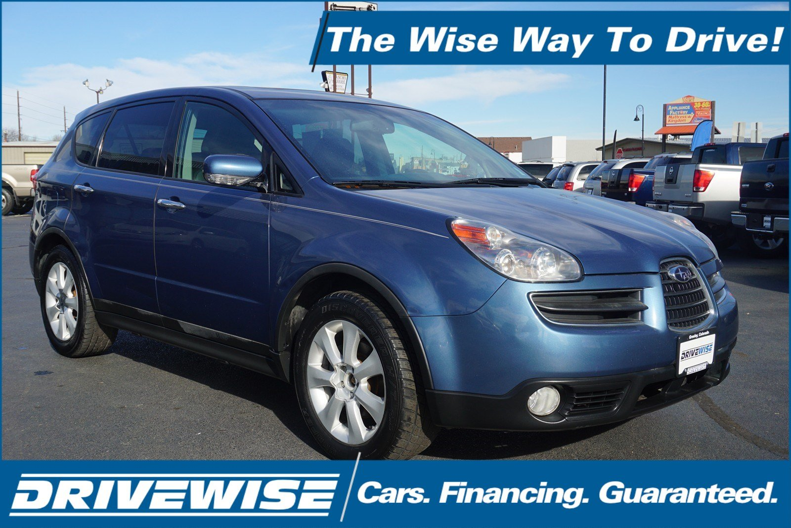 Pre-Owned 2007 Subaru B9 Tribeca 5-Pass Ltd